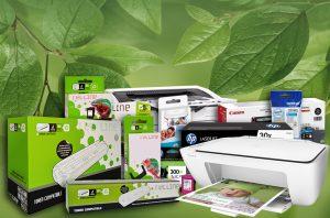 Cartuchos compatibles y originales con impresoras
