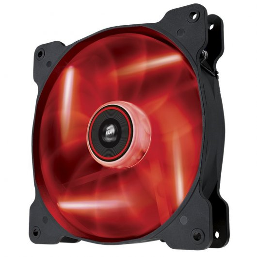 Imagen Corsair Air Series AF140 140x140mm LED Rojo