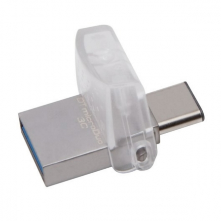 Imagen Pendrive KINGSTON Data Traveler 3C 32GB  USB 3.0 / USB TIPO C - DTDUO3C/32GB