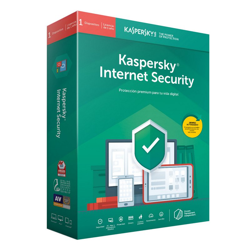 Imagen Software ANTIVIRUS KASPERSKY INTERNET SECURITY 2020 - 1