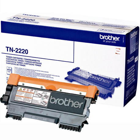 Imagen Toner Original Brother TN2220 Negro