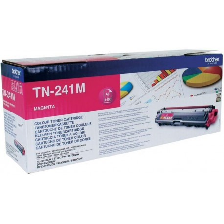 Imagen Toner Original BROTHER TN-241 Magenta - TN241M
