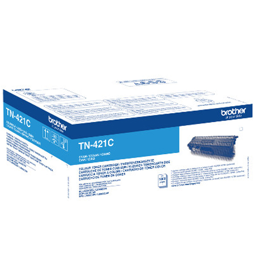 Imagen Toner Original BROTHER TN421C Cyan - TN421C